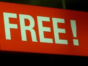 free sign by klbusta - http://www.flickr.com/photos/klabusta/346519139/